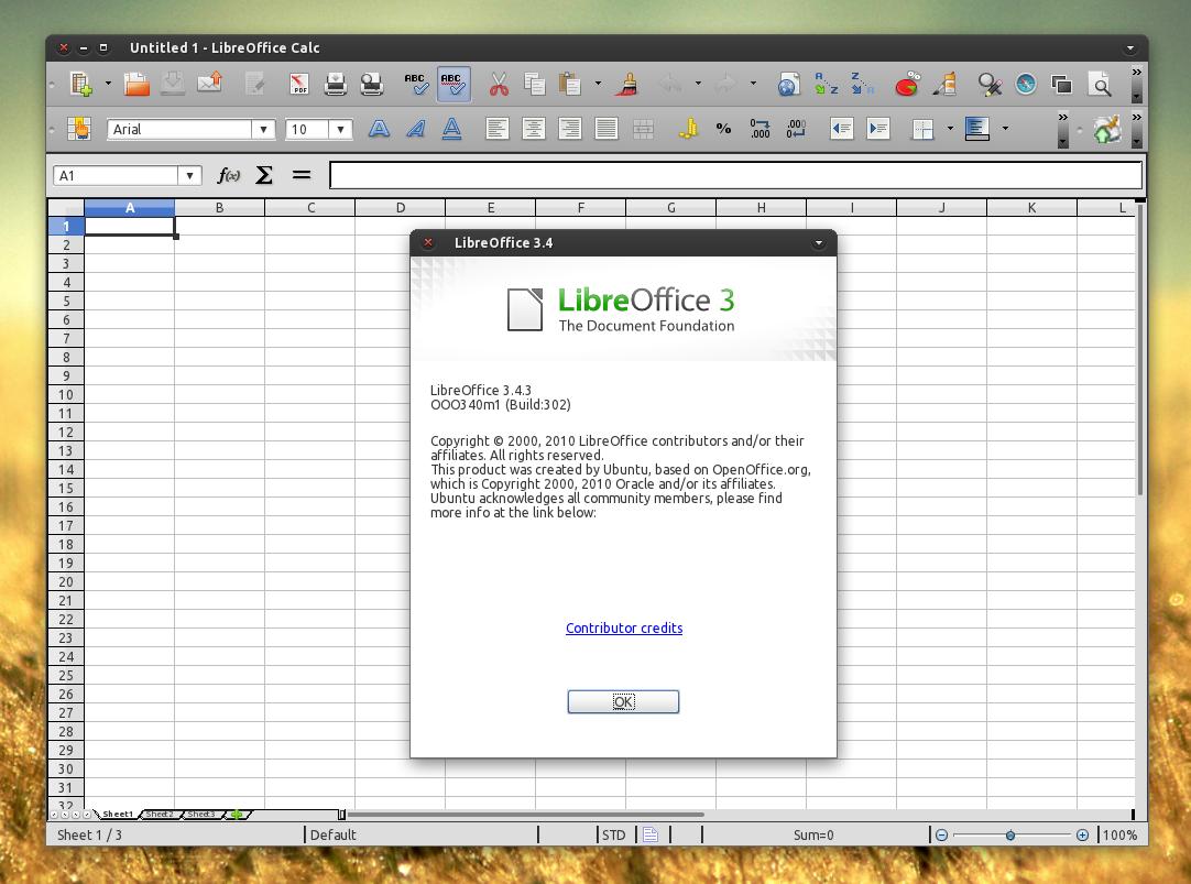 Libreoffice 3 4 3 est sortie - Libre office pour windows ...